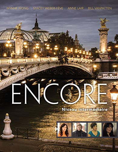 Encore Intermediate French, Student Text: Niveau intermediaire (1st Edition)