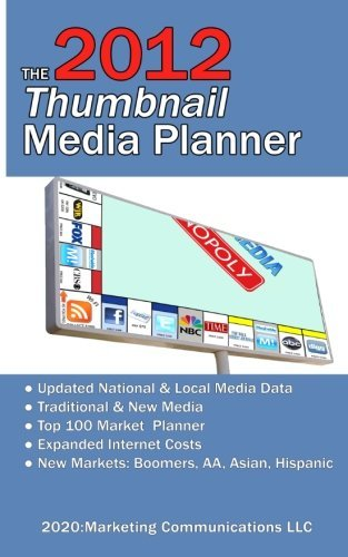 Textbook: The 2012 Thumbnail Media Planner: Fast Media Facts & Costs by Geskey, Ronald D. Sr.