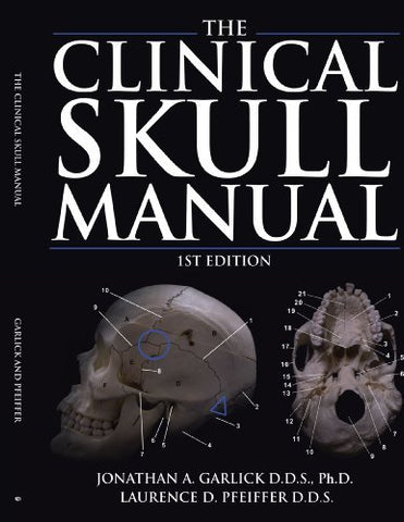 Textbook: The Clinical Skull Manual (1st Edition) by Jonathan A. Garlick