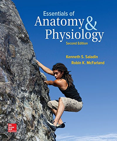 Textbook: Essentials of Anatomy & Physiology (2nd Edition) by Kenneth S. Saladin