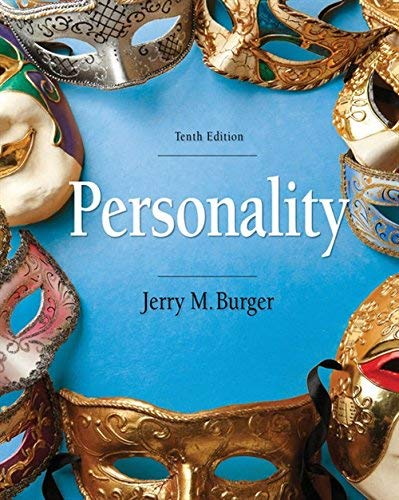 Textbook: Personality (MindTap Course List) by Burger, Jerry M.