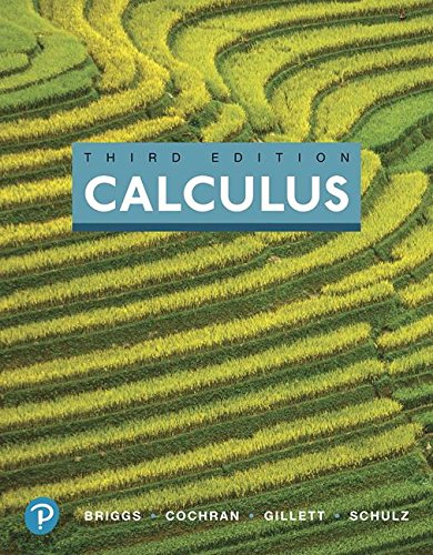 Textbook: Calculus (3rd Edition) by William L. Briggs