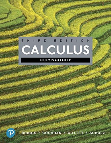 Textbook: Calculus, Multivariable (3rd Edition) by William L. Briggs