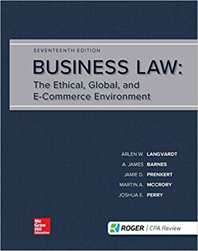 Business Law (17th Edition)