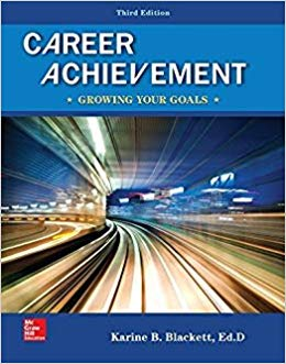 Career Achievement: Growing Your Goals (3rd Edition)