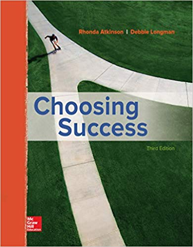 Choosing Success (3rd Edition)