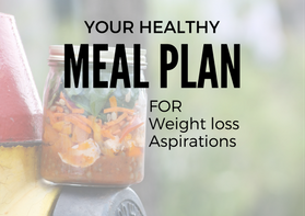 Healthy Meal Plan for Weight Loss Aspirations