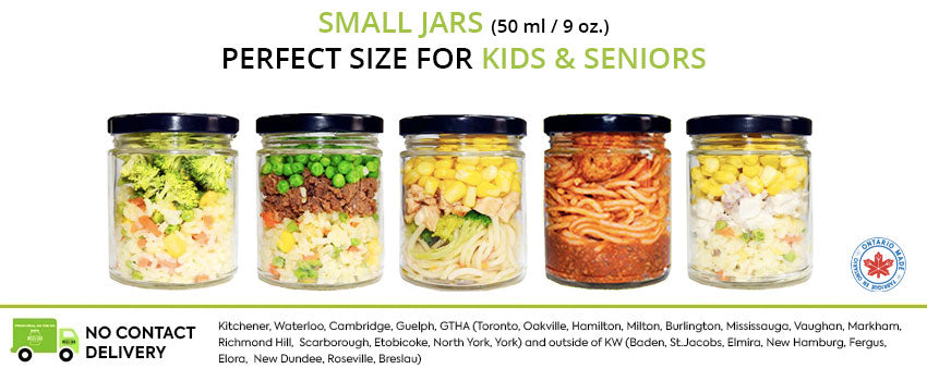 Small Jars Meals for kids and seniors