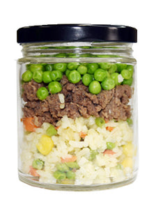 Beef Fried Rice Small Jar for Kids and Seniors
