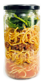 Spaghetti Meat Sauce Meal in a Jar