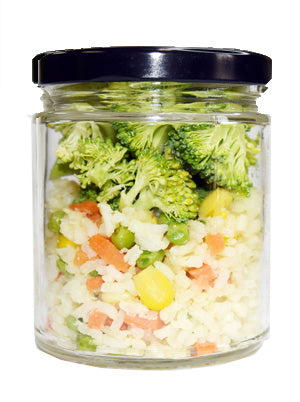 Veggie Fried Rice Small Jar for kids and seniors