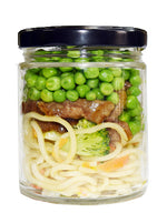 Steak Teriyaki Noodle Small Jar for kids and seniors