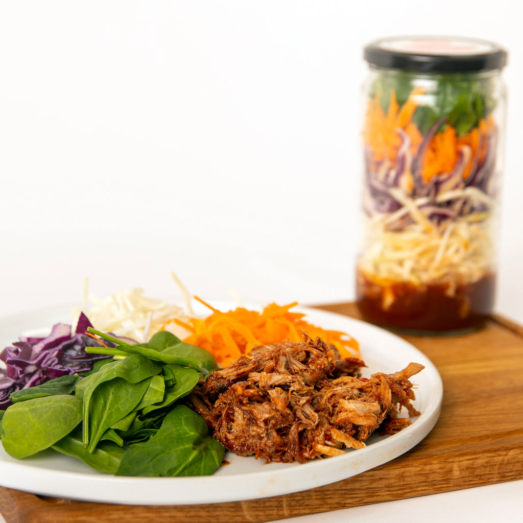 Backyard BBQ Meal in a Jar