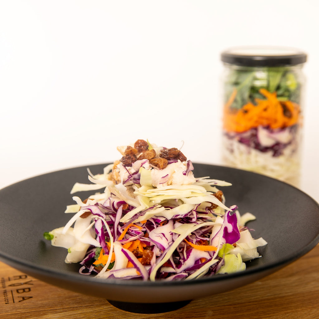 Balsamic Chicken Coleslaw Meal in a Jar