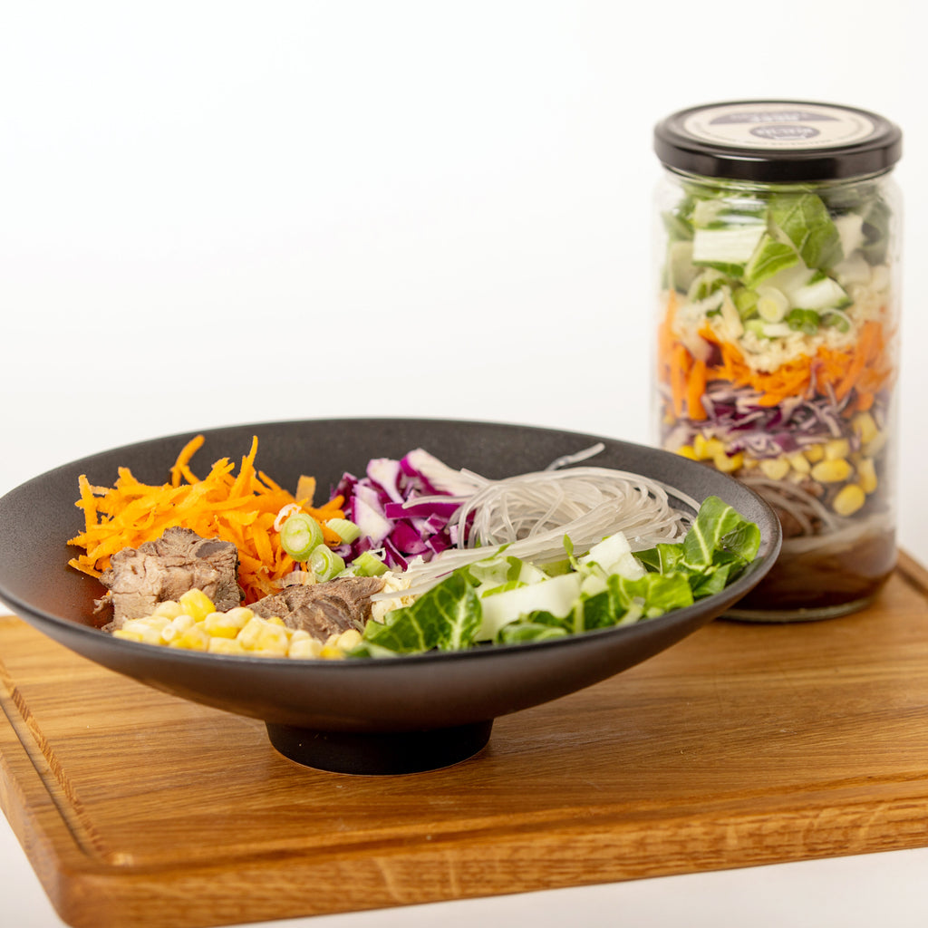 Beef Teriyaki Meal in a Jar
