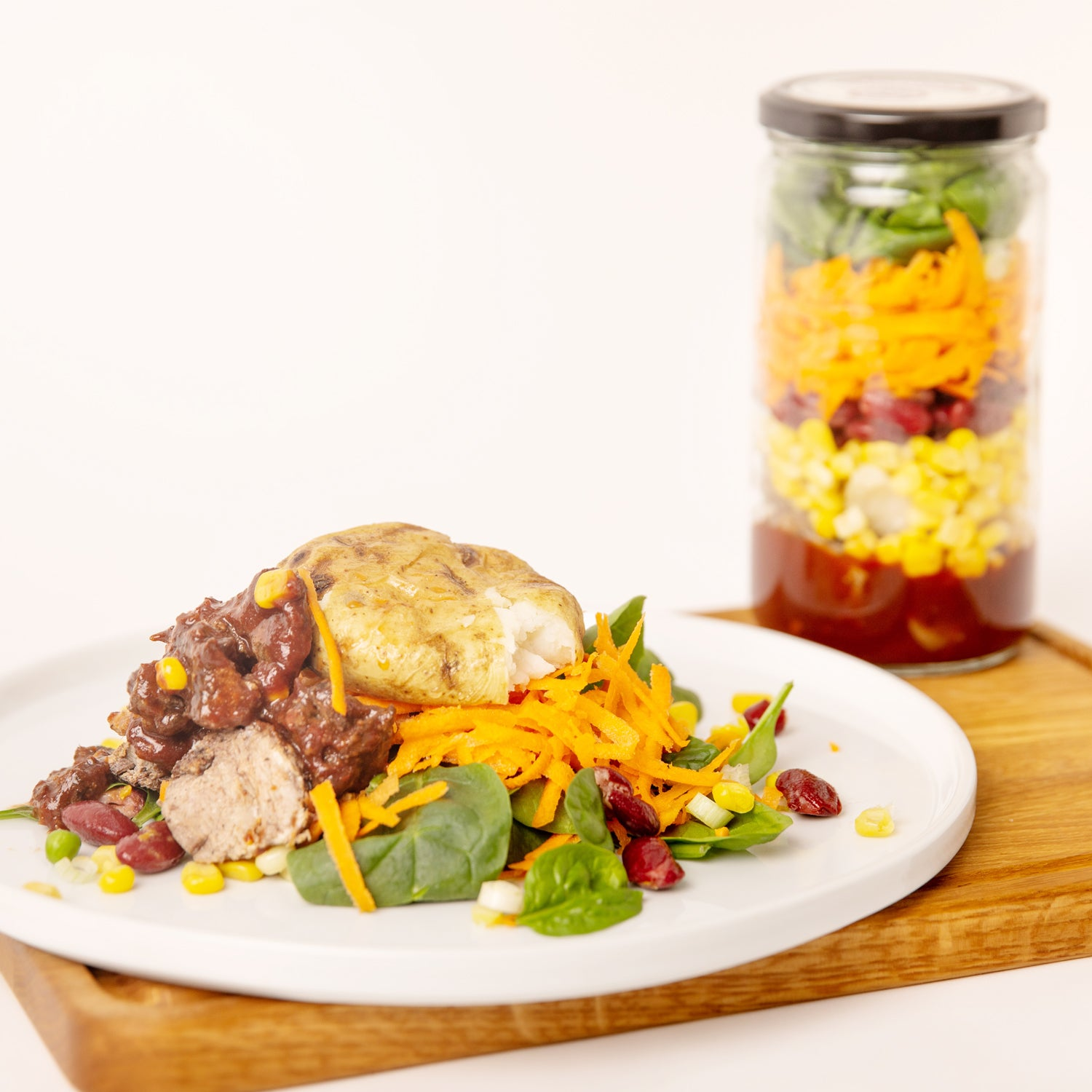 Cowboy Casserole Meal in a Jar