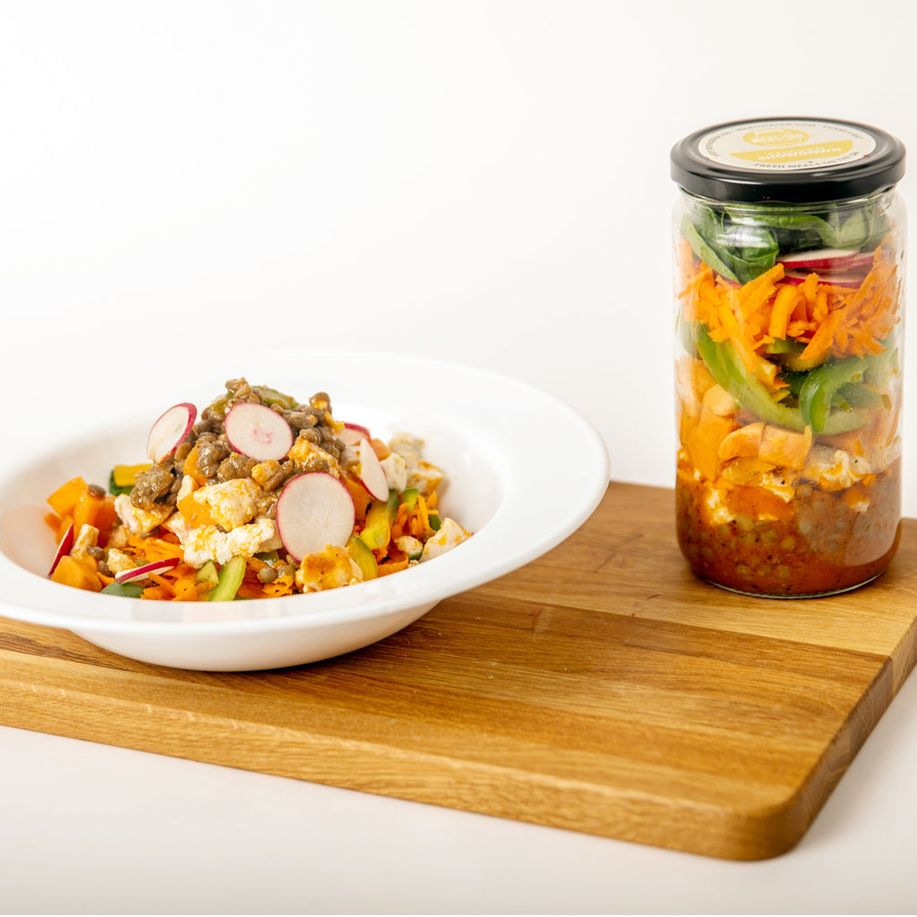 Chicken Showdown Meal in a Jar