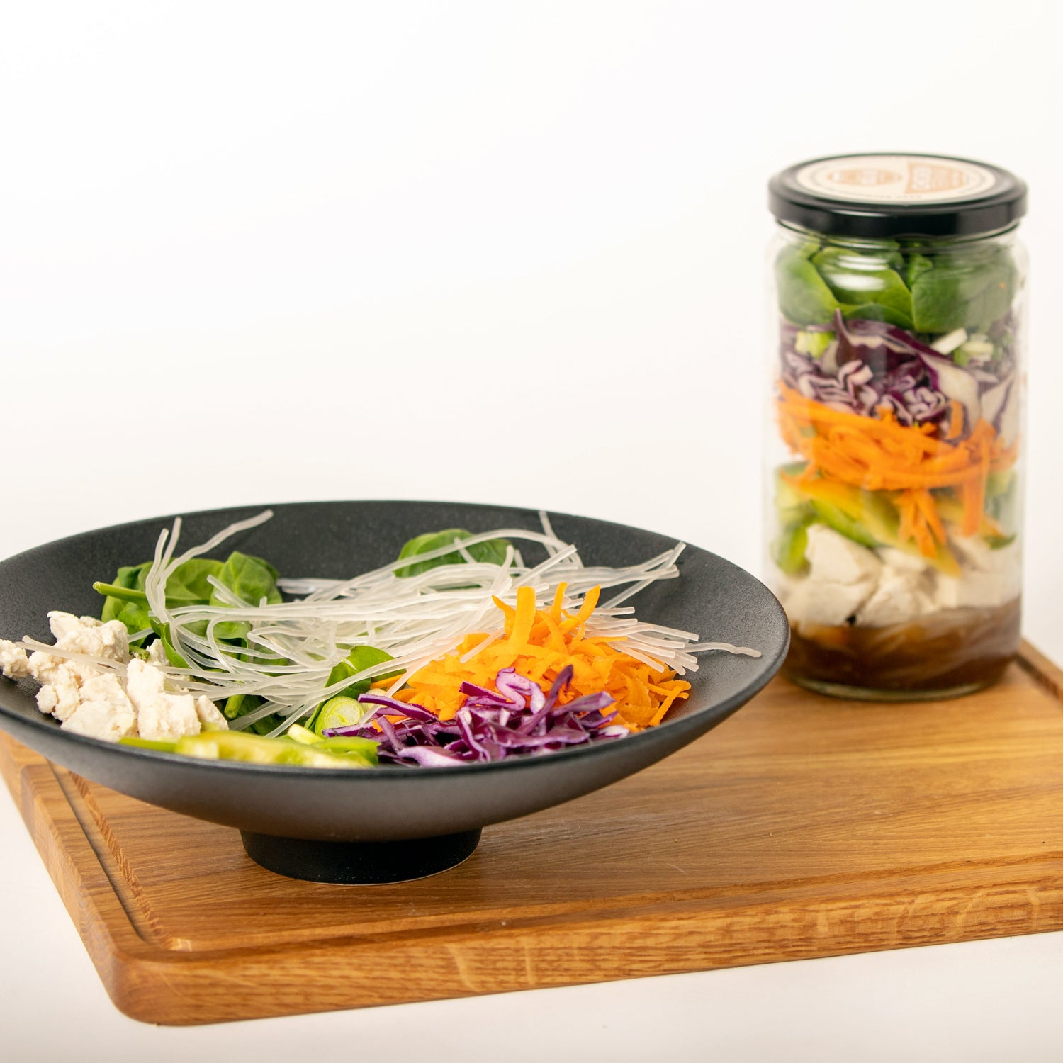 Chicken Teriyaki Meal in a Jar