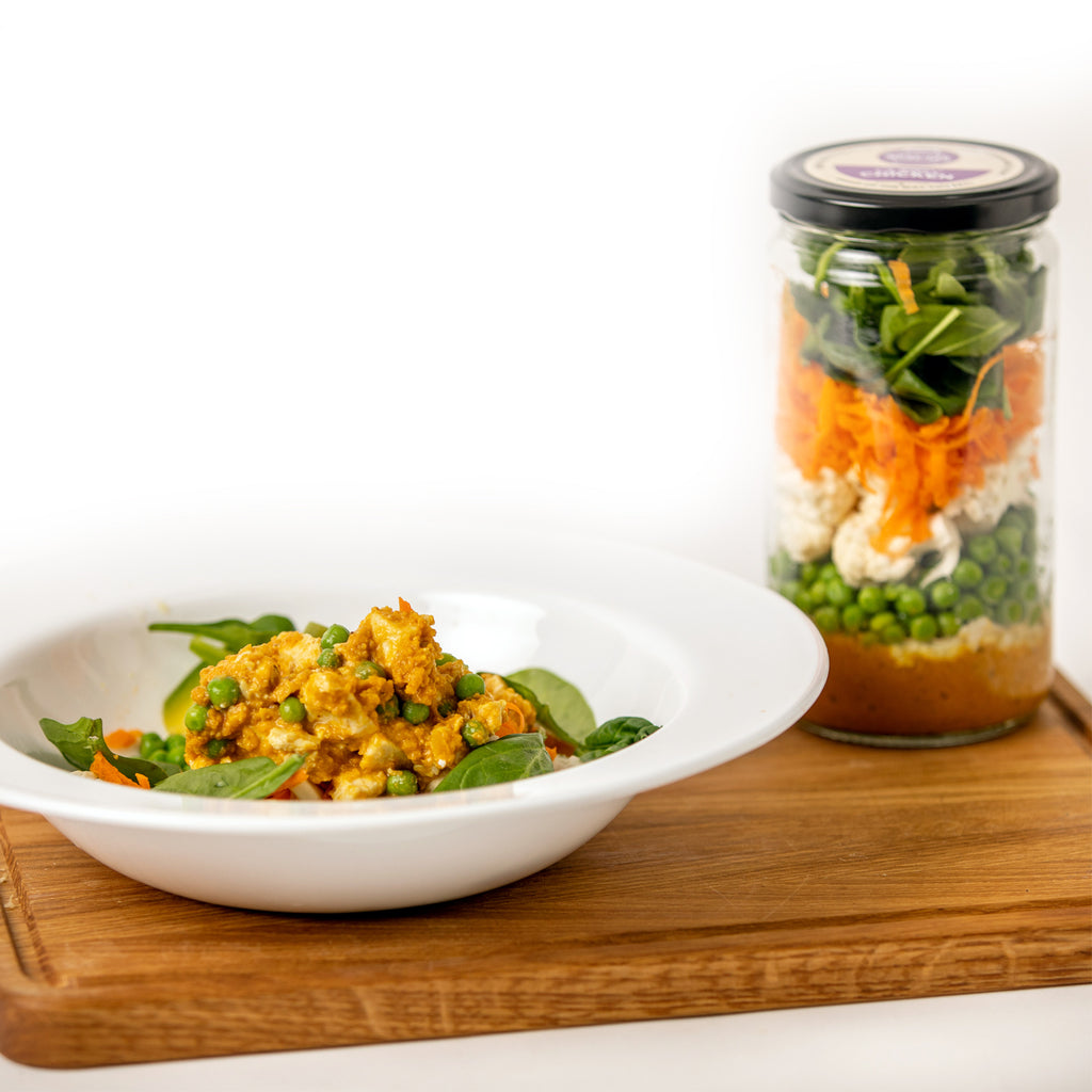 Curry Chicken Meal in a Jar