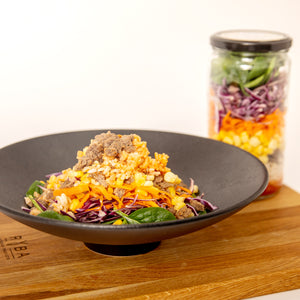 Korean BBQ Bibimbap Meal in a Jar