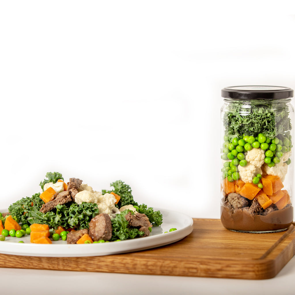 Steak & Vegetables Keto Meal in a Jar