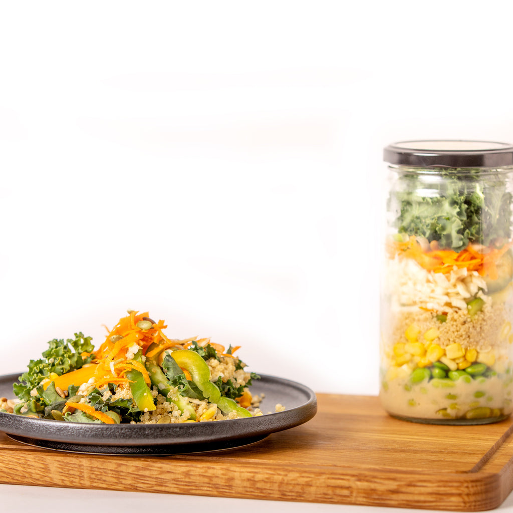 Lively Lemon Ginger Meal in a Jar