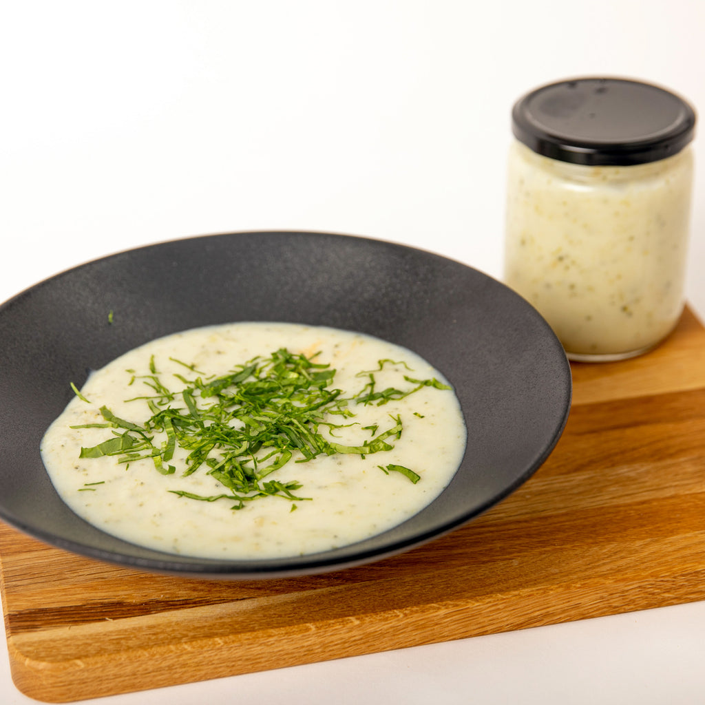 Broccoli Cream Soup Meal in a Jar