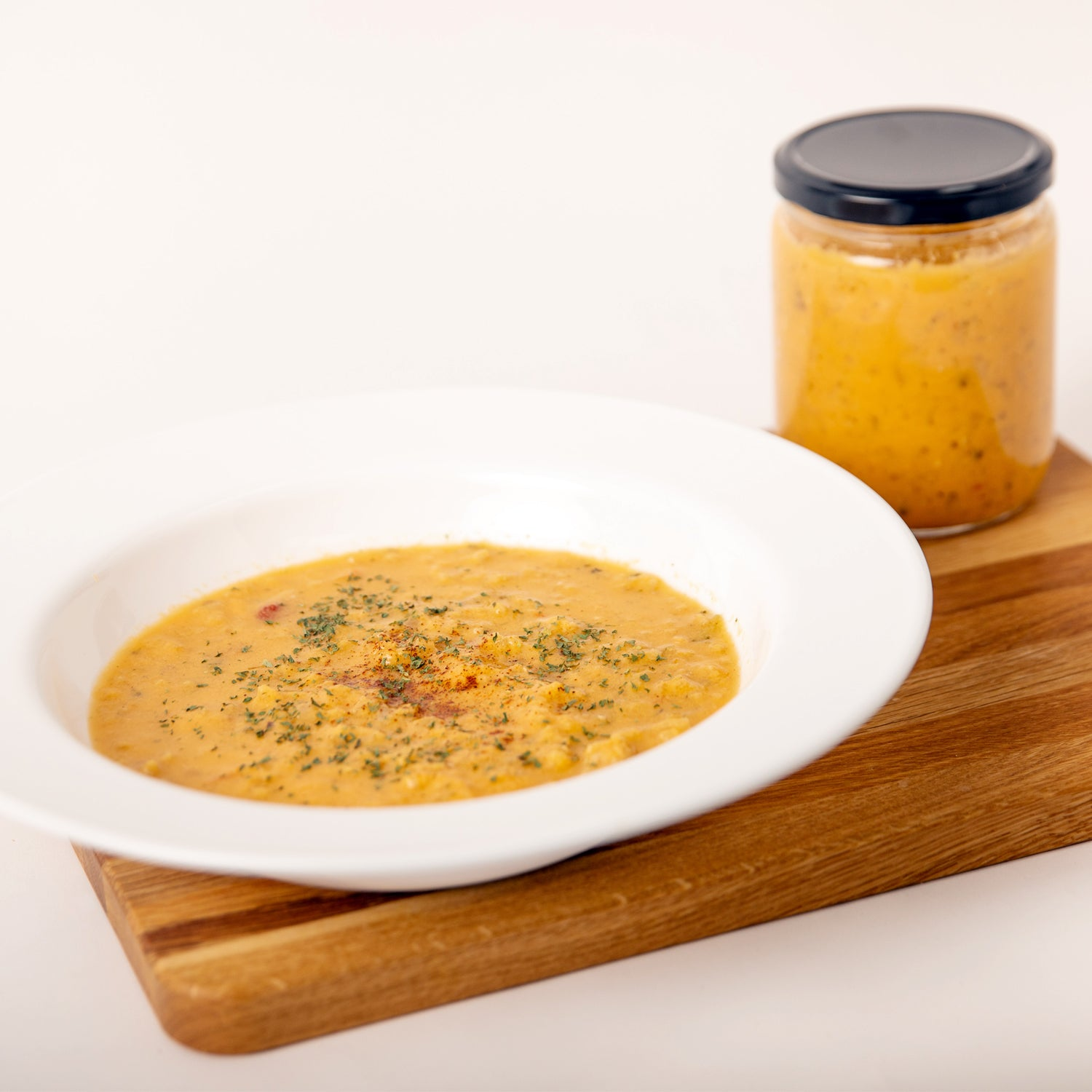 Red Thai Curry Chicken Soup Meal in a Jar
