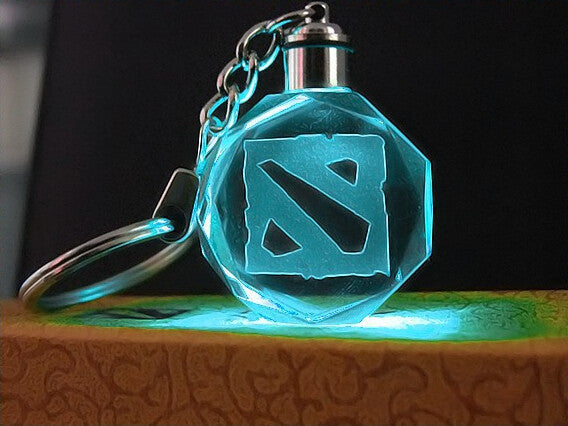 DOTA LED Key Chain - Geek Bling