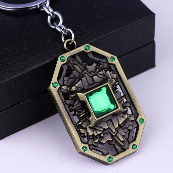 Dota Immortal Champion Shield Keychain - Geek Bling