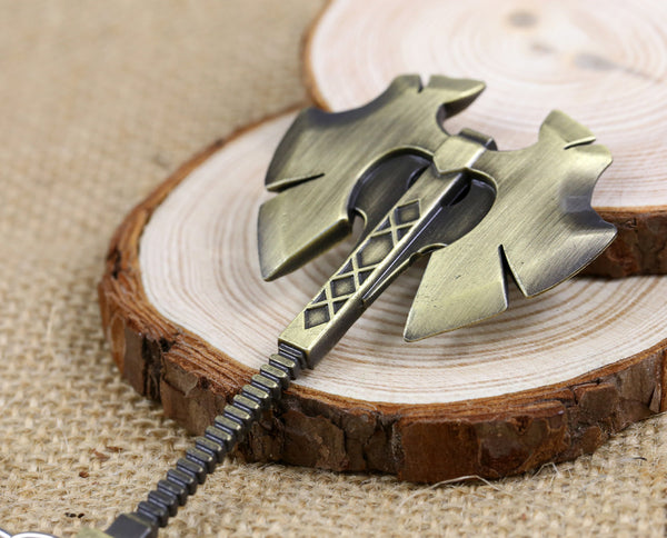 Dota 2 Defense Of The Ancients Eagle's Head Axe Keychain - Geek Bling
