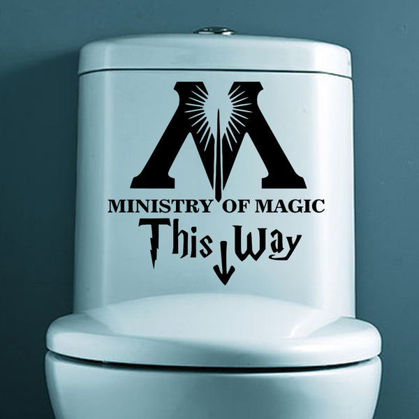Harry Potter Ministry Of Magic Sticker - Geek Bling