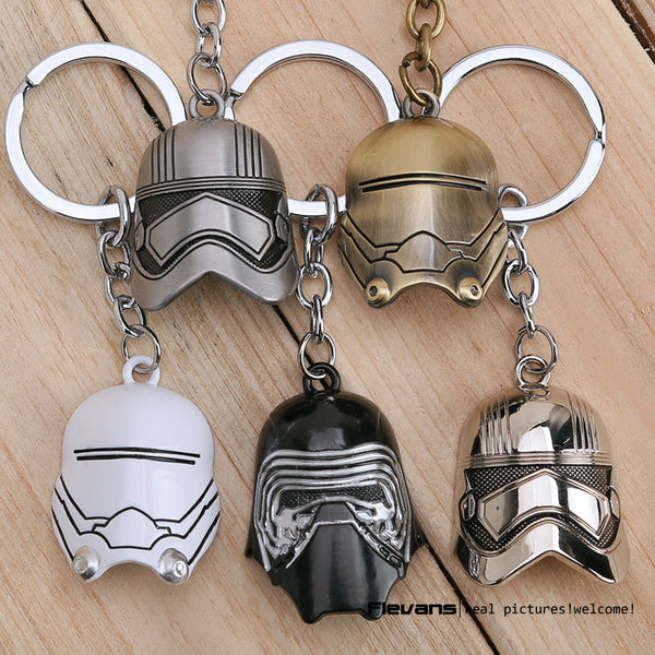 Star Wars™ Kylo Ren Mask Keychain - Geek Bling