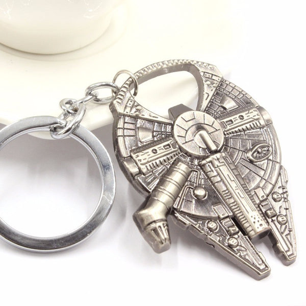 Star Wars™ Millenium Falcon Key Chain - Geek Bling