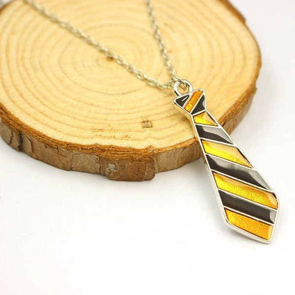 Harry Potter Tie Pendant Necklace - Geek Bling