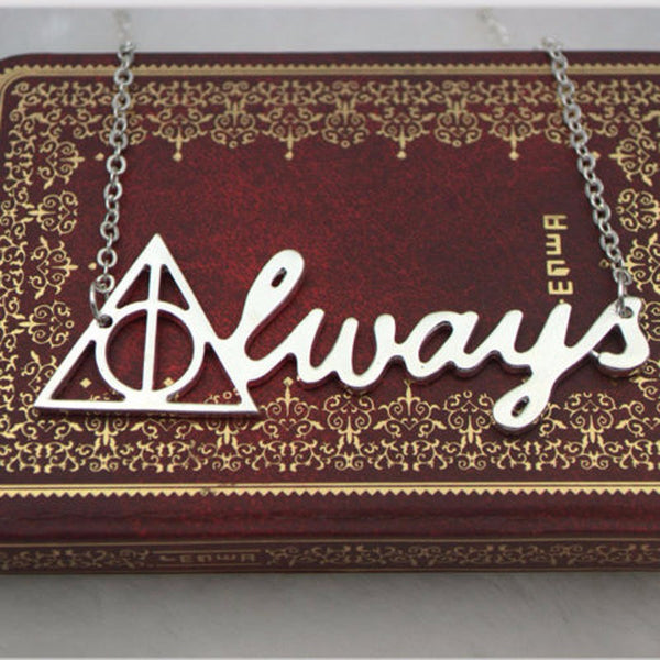 Harry Potter Always Necklace - Geek Bling