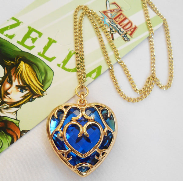 Legend of Zelda Skyword Heart Necklace - Geek Bling