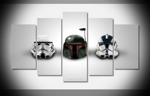 Star Wars™ Helmet Framed Wall Art - Geek Bling