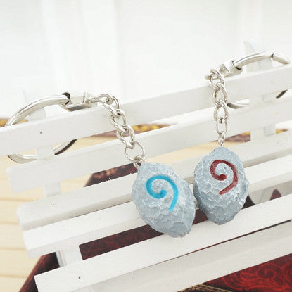 World Of Warcraft Hearthstone Key Chain/Braided Bracelet - Geek Bling