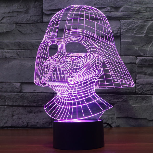 Star Wars™ 3D Visual LED Lamp - Geek Bling
