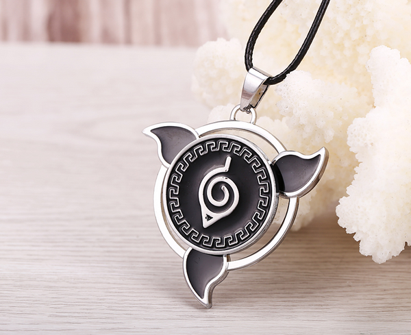 Naruto Rotatable  Pendant Necklace - Geek Bling