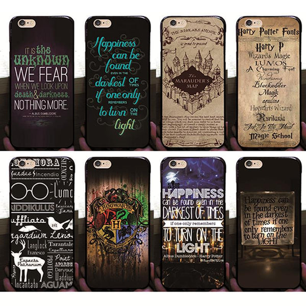 Harry Potter Case For iPhone 5 5G 5S Hard PC Plastic Back Covers - Geek Bling