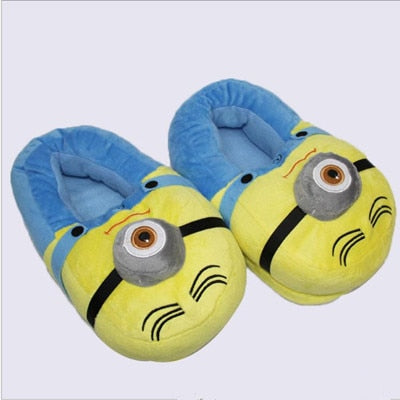 Despicable Me Plush Slippers - Geek Bling