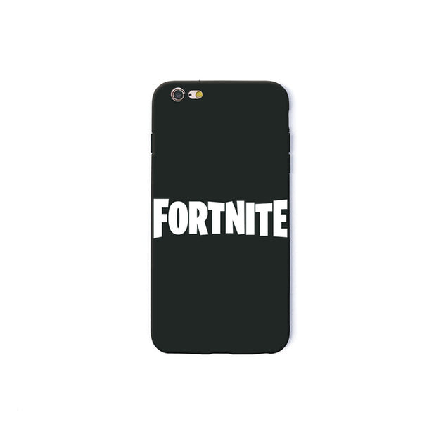 Fortnite Phone Case Soft Silicone Black iPhone X 6 7 8 plus 5 5s 6s se for Apple 10 ten TPU - Geek Bling