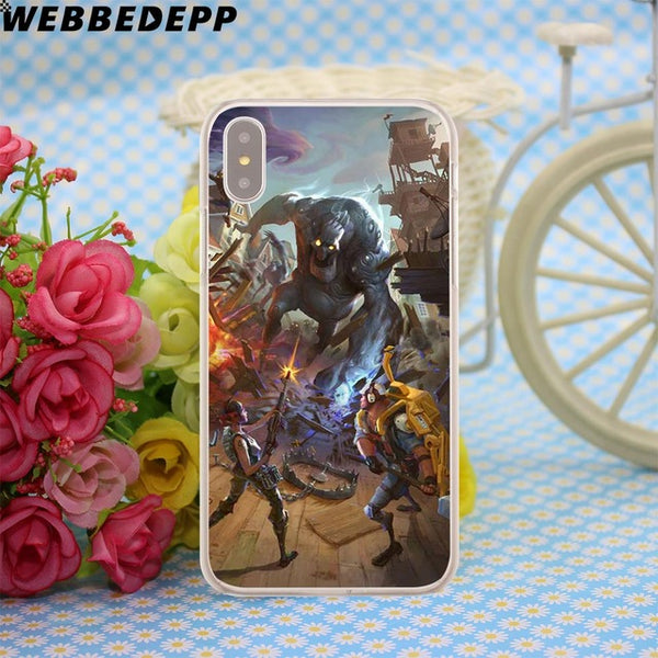 Fortnite Hero Art Case for iPhone X or 10 8 7 6 6S Plus 5 5S SE 5C 4 4S - Geek Bling