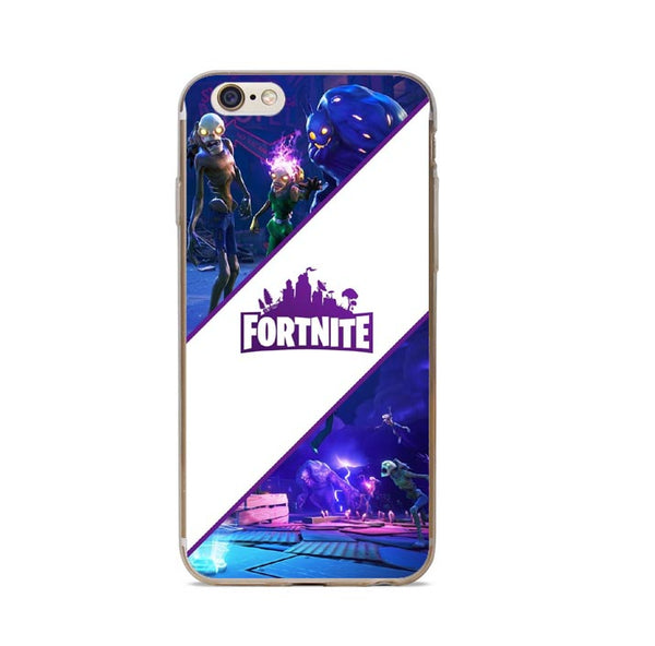 Fortnite Case Covers For iPhone X 7 7Plus 8 8 Plus 6 6S Plus 5 5S SE - Geek Bling