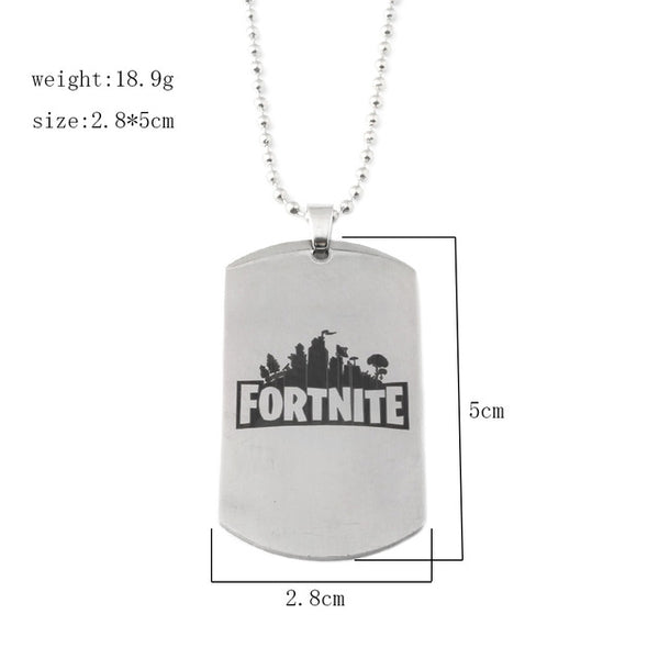 Fortnite Necklace and Keychains - Geek Bling