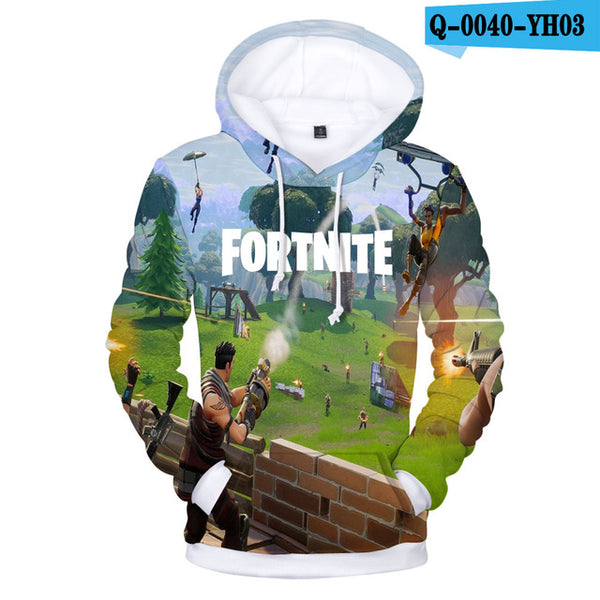 Fortnite 3D Hoodie Sweatshirt Casual Hoodies - Geek Bling
