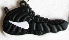 Nike Air Foamposites Sneaker Keychain - Geek Bling