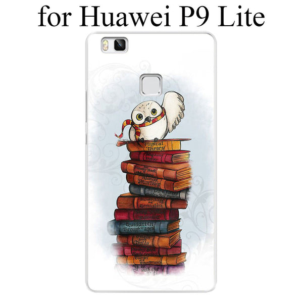 Harry Potter Hedwig Hard Case Cover for Huawei P6 P7 P8 Lite P9 Lite Plus & Honor 6 7 4C 4X G7 - Geek Bling